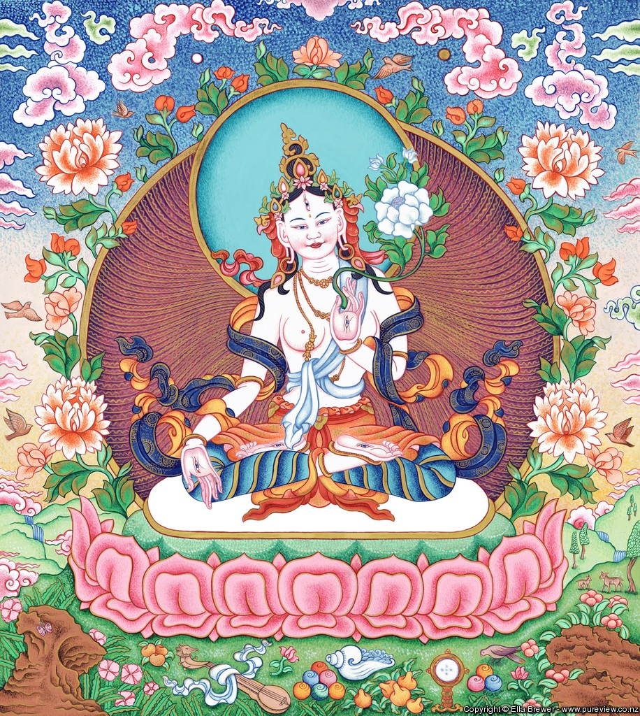 Venus as the White Tara